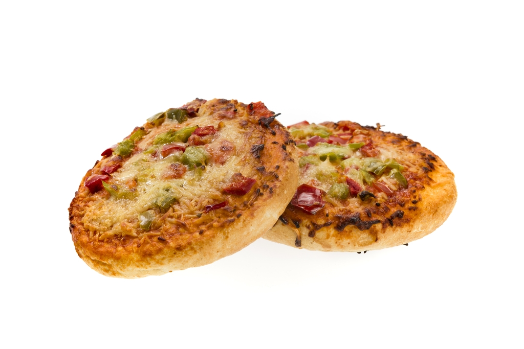 Pizza Broodje (vegetarisch) (328)